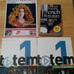 Three essential books for my French studies!